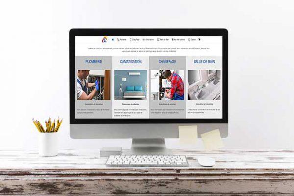 projet site plombier toulouse