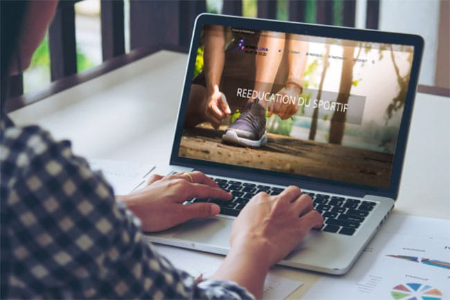 projet refonte site internet kinésitherapeute